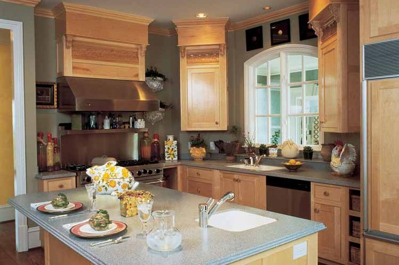 Classical Interior - Kitchen Plan #429-145 - Houseplans.com