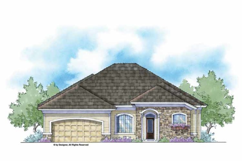 Country Exterior - Front Elevation Plan #938-35 - Houseplans.com