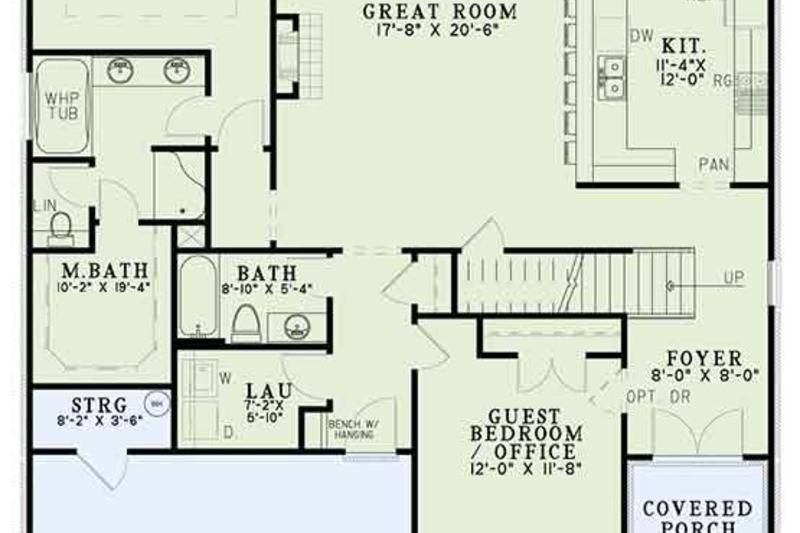 Tudor Exterior - Front Elevation Plan #17-3405 - Houseplans.com