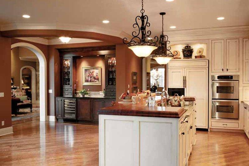 European Interior - Kitchen Plan #46-775 - Houseplans.com