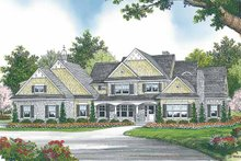 Country Exterior - Front Elevation Plan #453-460
