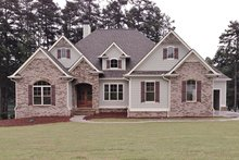 Home Plan - European Exterior - Front Elevation Plan #437-70