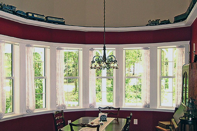Country Interior - Dining Room Plan #314-278 - Houseplans.com