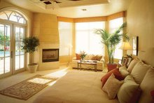 Mediterranean Interior - Master Bedroom Plan #930-320