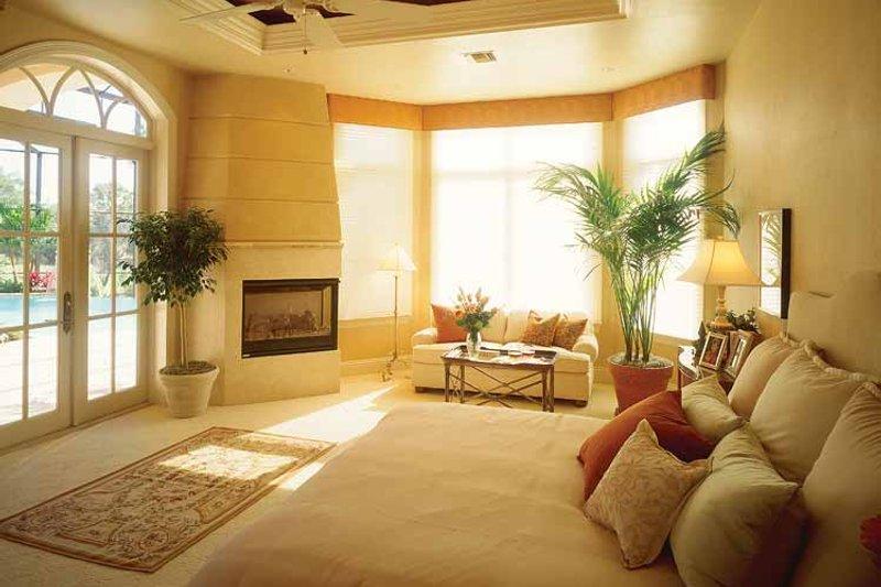 Mediterranean Interior - Master Bedroom Plan #930-320 - Houseplans.com