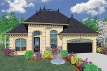 Traditional Exterior - Front Elevation Plan #509-259