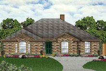 Dream House Plan - Traditional Exterior - Front Elevation Plan #84-128