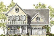 Farmhouse Exterior - Front Elevation Plan #20-1212