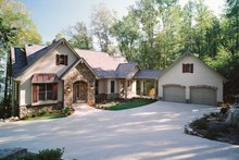 Country Exterior - Front Elevation Plan #929-300