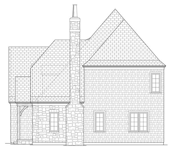 Home Plan - Country Floor Plan - Other Floor Plan #453-442