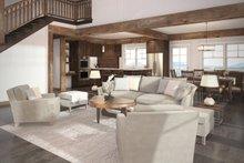 Craftsman Interior - Family Room Plan #124-680