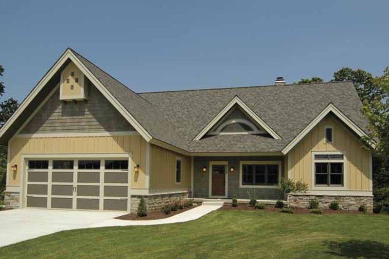 House Plan Design - Craftsman Exterior - Front Elevation Plan #928-88