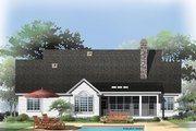 Traditional Style House Plan - 4 Beds 3 Baths 2314 Sq/Ft Plan #929-965 Exterior - Rear Elevation