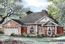 Home Plan - Ranch Exterior - Front Elevation Plan #17-3252
