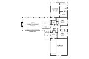 Contemporary Style House Plan - 3 Beds 2.5 Baths 2110 Sq/Ft Plan #48-1001 Floor Plan - Main Floor