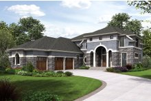 Home Plan - European Exterior - Front Elevation Plan #48-650
