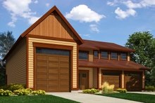 Traditional Exterior - Front Elevation Plan #118-178