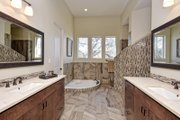 Mediterranean Style House Plan - 5 Beds 4 Baths 3585 Sq/Ft Plan #80-221