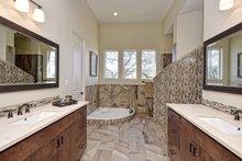 Architectural House Design - Mediterranean Interior - Master Bathroom Plan #80-221