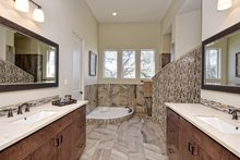 Mediterranean Interior - Master Bathroom Plan #80-221