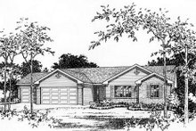 Ranch Exterior - Other Elevation Plan #22-469