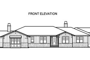 Traditional Exterior - Front Elevation Plan #490-23