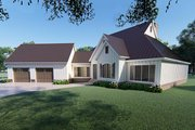 Farmhouse Style House Plan - 3 Beds 3.5 Baths 3004 Sq/Ft Plan #923-120 Exterior - Other Elevation