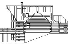 Log Exterior - Other Elevation Plan #124-766