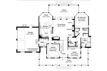 Country Floor Plan - Main Floor Plan Plan #930-10