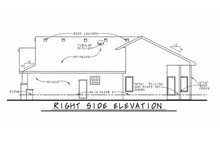 Architectural House Design - Traditional Exterior - Other Elevation Plan #20-1761