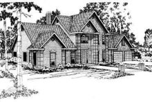 Dream House Plan - Modern Exterior - Front Elevation Plan #124-267