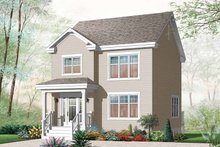 House Plan Design - Country Exterior - Front Elevation Plan #23-2552