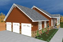Home Plan - Ranch Exterior - Other Elevation Plan #1060-23