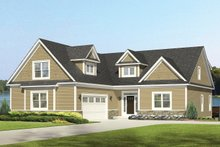 Dream House Plan - Colonial Exterior - Front Elevation Plan #1010-109