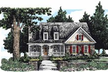 House Design - Country Exterior - Front Elevation Plan #927-281
