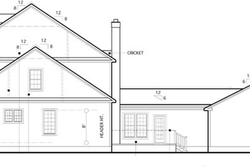 Colonial Exterior - Other Elevation Plan #1053-56 - Houseplans.com