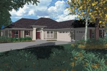 Dream House Plan - Traditional Exterior - Front Elevation Plan #48-206