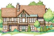 Craftsman Exterior - Rear Elevation Plan #929-946
