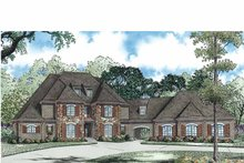 House Plan Design - European Exterior - Front Elevation Plan #17-3339