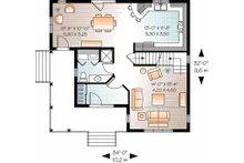 Country Floor Plan - Main Floor Plan Plan #23-2464