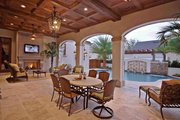 Mediterranean Style House Plan - 6 Beds 5 Baths 6493 Sq/Ft Plan #1058-1 Interior - Other