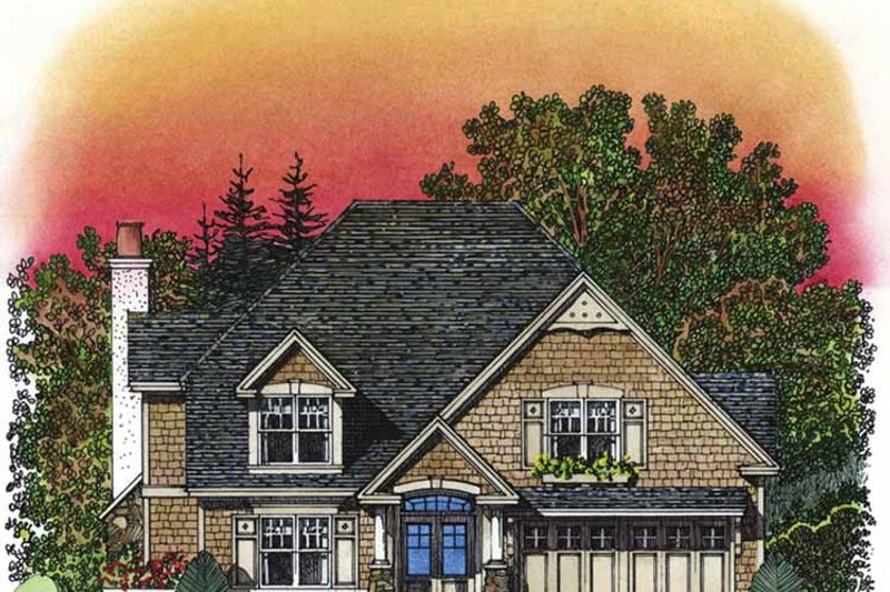 Dream House Plan - Victorian Exterior - Front Elevation Plan #1016-92