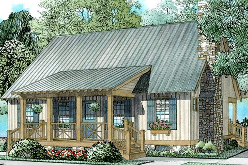 Country Exterior - Front Elevation Plan #17-2885 - Houseplans.com