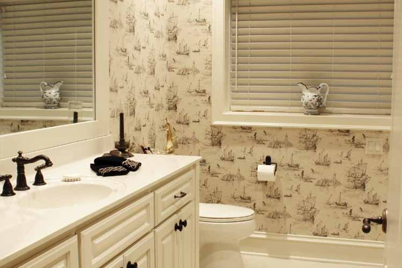 European Interior - Bathroom Plan #928-65 - Houseplans.com