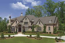 Home Plan - European Exterior - Front Elevation Plan #54-293