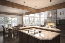 Craftsman Interior - Dining Room Plan #124-680