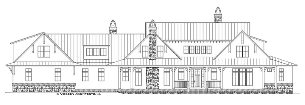 country style house plan - 5 beds 4 5 baths 4932 sq  ft plan  928-276