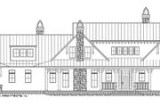 Country Style House Plan - 4 Beds 4.5 Baths 4932 Sq/Ft Plan #928-276 Exterior - Front Elevation