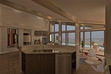 Ranch Interior - Kitchen Plan #489-1