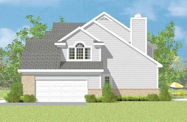 House Blueprint - Traditional Floor Plan - Other Floor Plan #72-1115